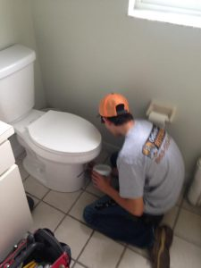 Leaking Toilet in Plant City, Florida