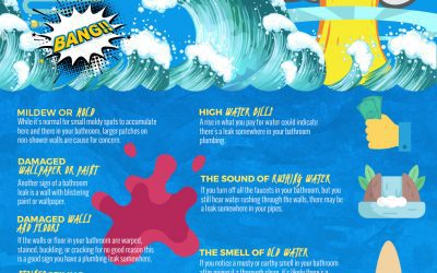 How to Spot a Hidden Water Leak in Your Bathroom [infographic]